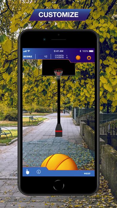 Hoops AR BasketBall Hard Mode screenshot 3