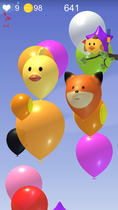 Poke Balloon:Rise up screenshot 2