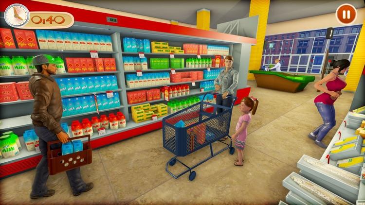 Supermarket Shopping Games 3D