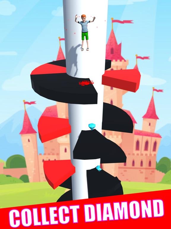 Helix Royal Jumper 3D screenshot 5