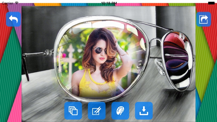 Goggle Photo Frames & Editor screenshot-3
