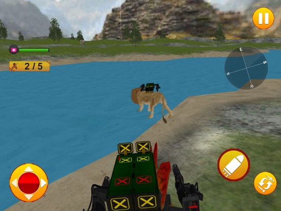 Animal Battle Dinosaur Games screenshot 13