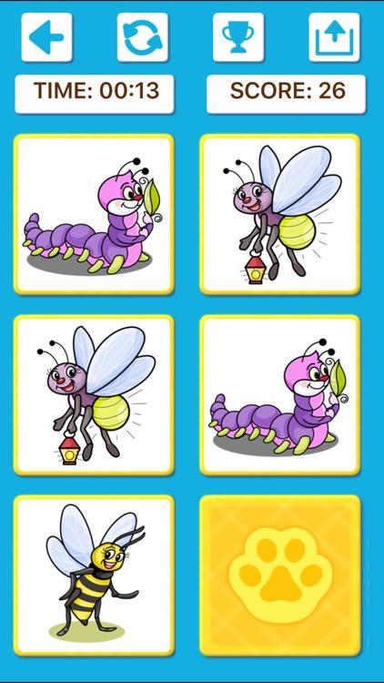Animal Memory Matching Games screenshot-3