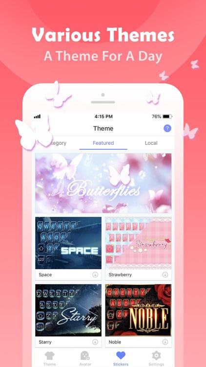 iMoji - Avatar Emoji Keyboard screenshot-4