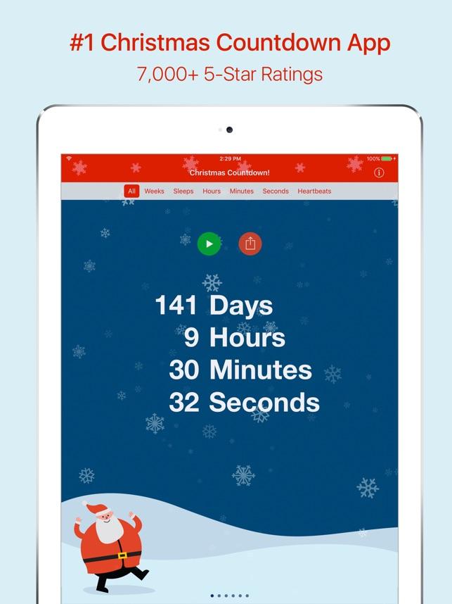 Christmas Countdown Screen Savers.Christmas Countdown On The App Store