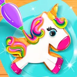 Unicorn Cookie Baking Game