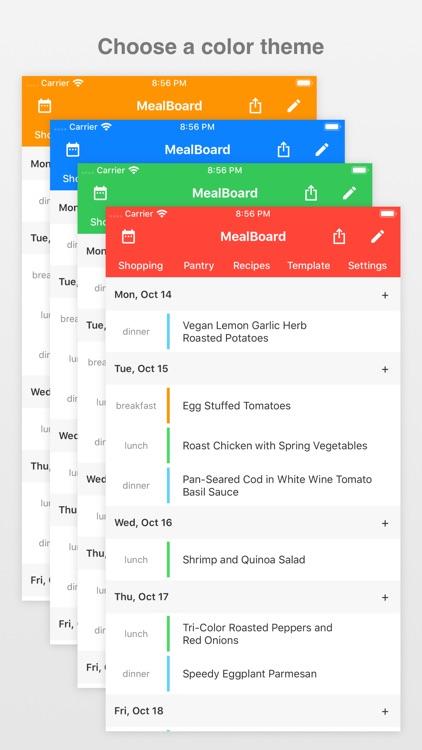 MealBoard screenshot-6