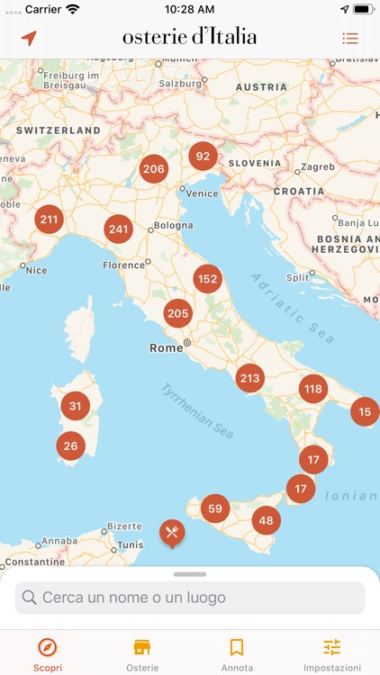 Osterie d'Italia 2020 screenshot-0