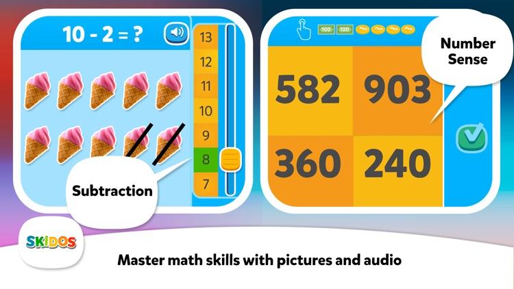 Water Games 3rd,4th Grade Math screenshot-0