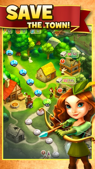 Robin Hood Legends - Merge 3 screenshot 2