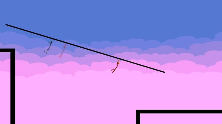 Stickman Parkour - Ninja Race screenshot-7