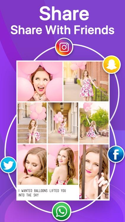 Photo Collage Maker PicCollage screenshot-4