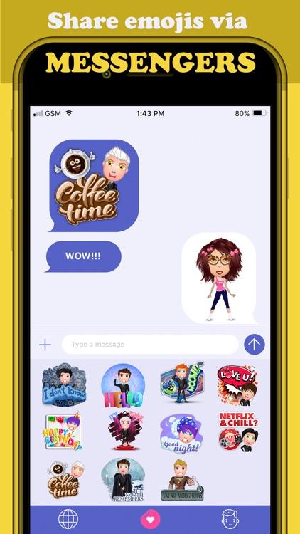 Emoji Maker - HotMoji screenshot-3