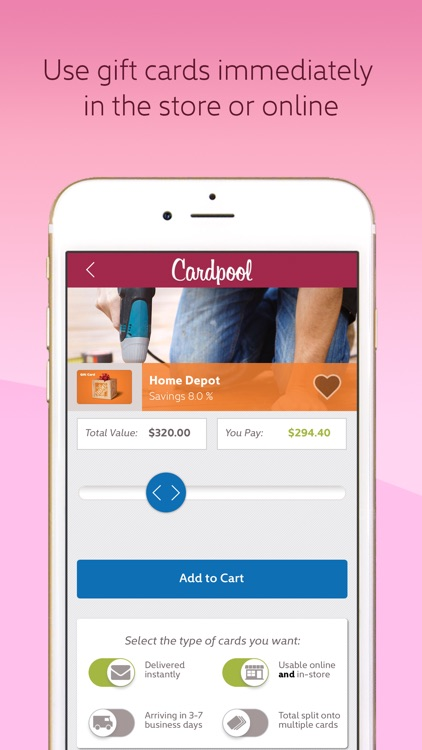 Cardpool-Discounted Gift Cards