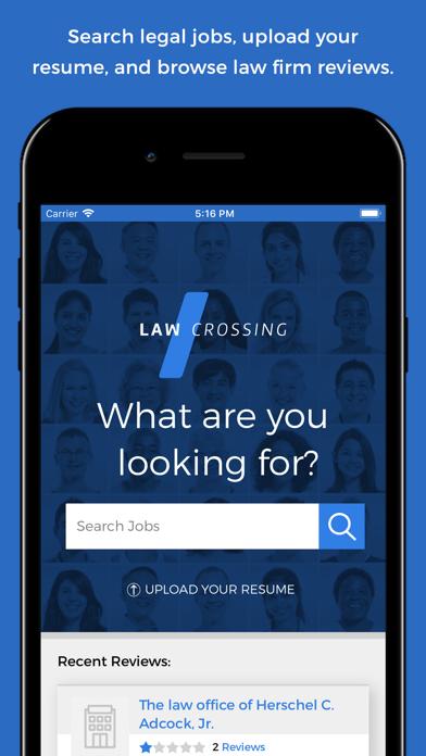 다운로드 LawCrossing Legal Job Search PC 용