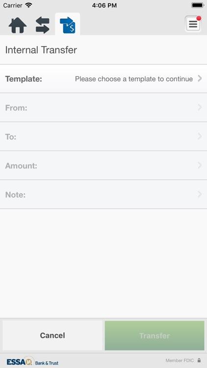 ESSA Business Mobile Banking screenshot-5