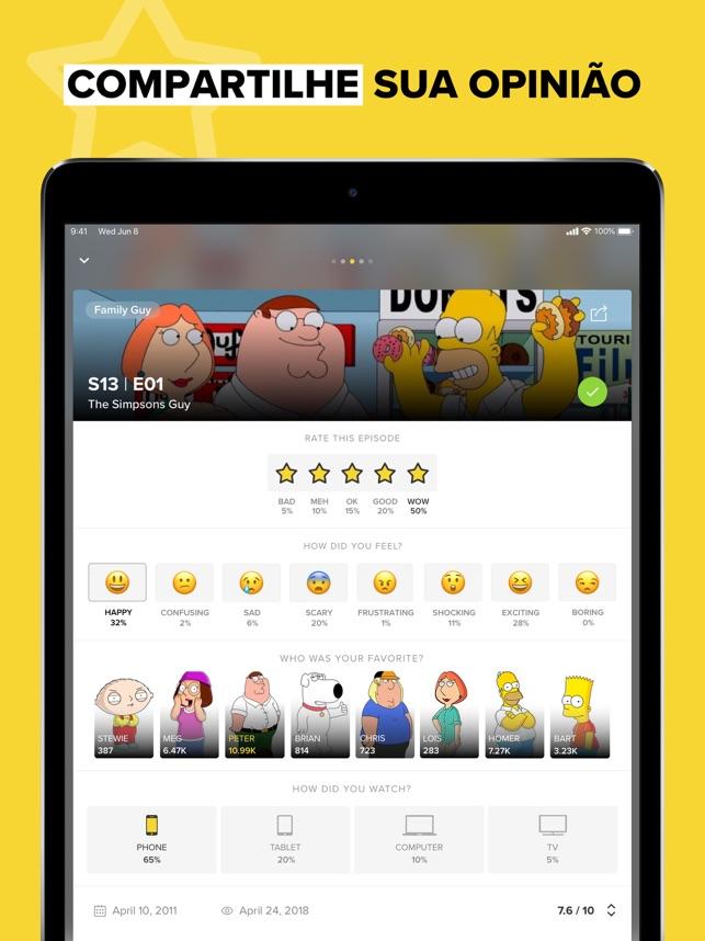 TV Time - O guia de séries Nº1 na App Store