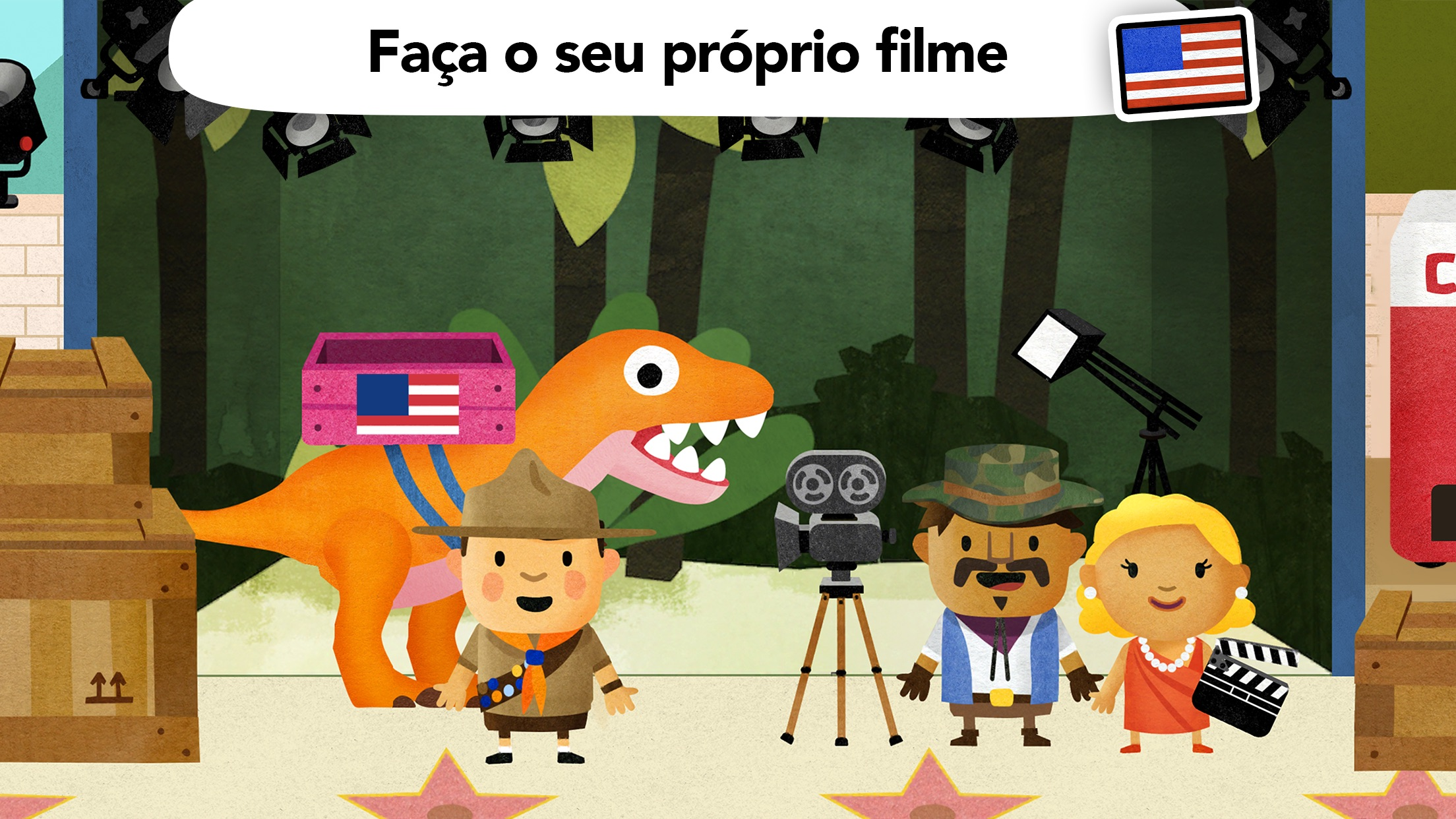 Screenshot do app Fiete World - para crianças 4+