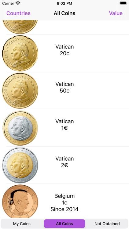 Euro Coins screenshot-3