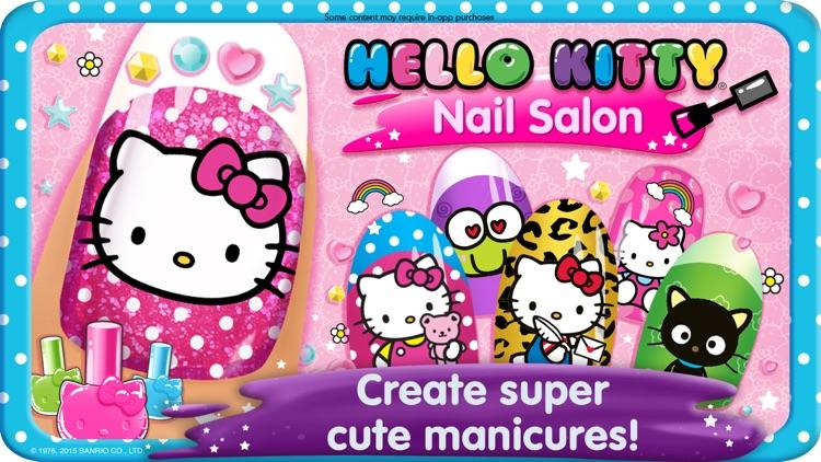 Hello Kitty Nail Salon screenshot-0