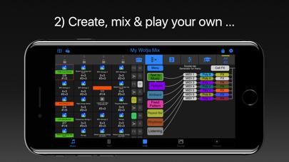 Wotja Pro 20: Generative Music Screenshots