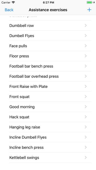 5/3/1 Workout logger - 531 by Seetha Thangarasa (iOS, United