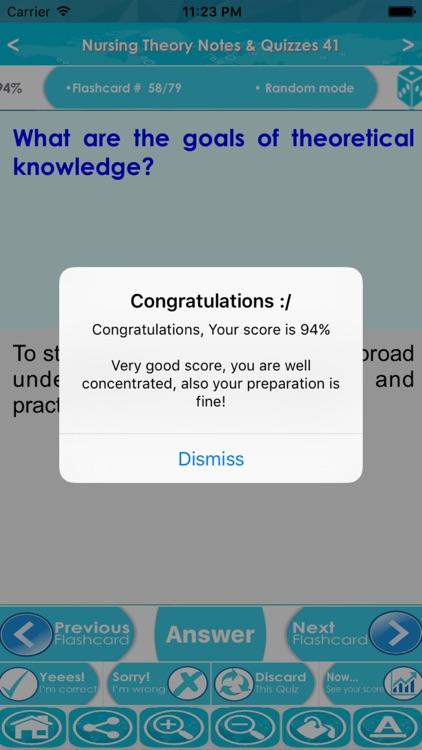 Nursing Theory Exam Review App screenshot-4