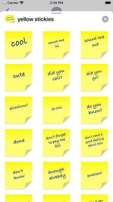 yellow stickies screenshot 8