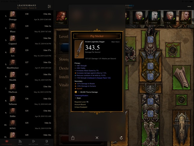 Nephalem - Diablo 3 Companion on the App Store