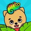 キッズ・幼児向けパズルと点つなぎ知育アプリ・動物塗り絵ゲーム - iPhoneアプリ