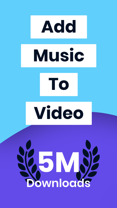 Add Music To Video Editor Screenshot