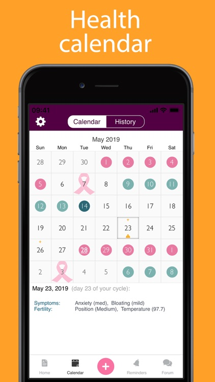 iPeriod Lite Period Tracker screenshot-3
