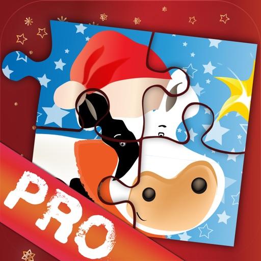Xmas Jigsaws Game: Farm PRO