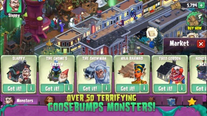 Goosebumps: ホラーモンスターサバイバルタウンのおすすめ画像2