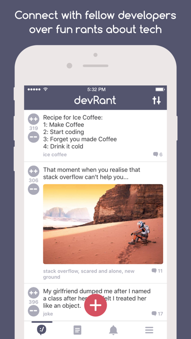 devRant screenshot one