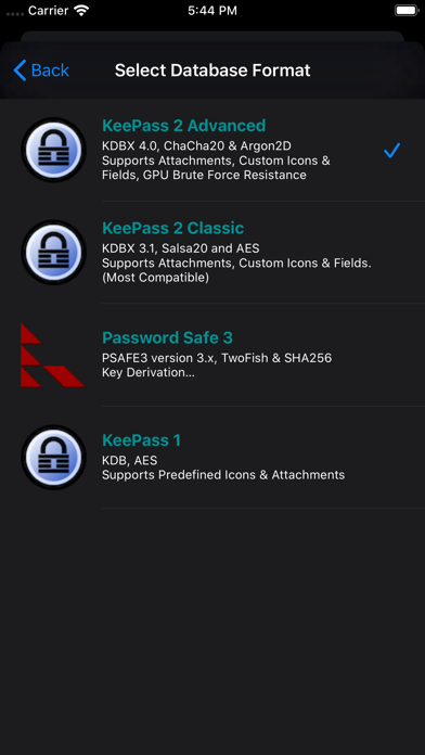 messages.download Strongbox - KeePass & PwSafe software