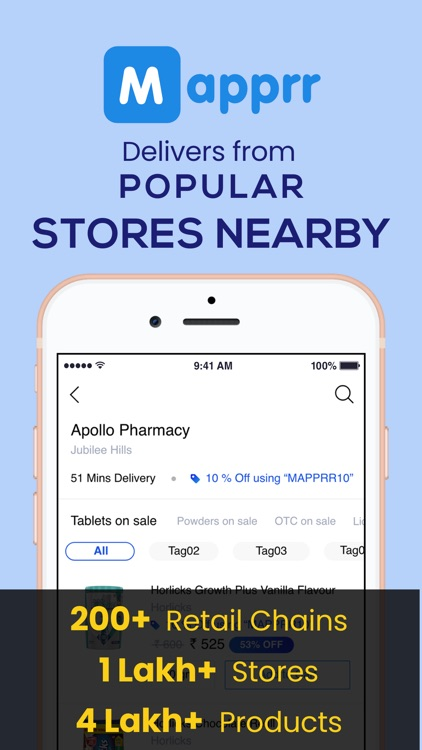 Mapprr - Products Delivery App screenshot-0