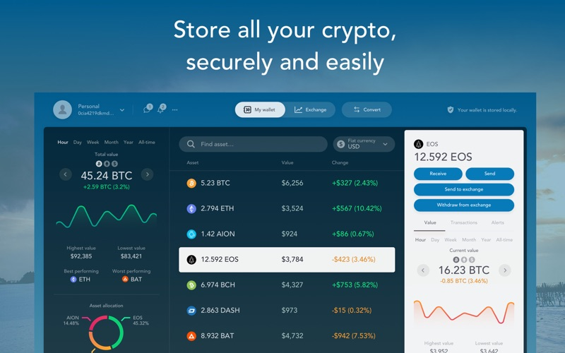 Portal Wallet: BTC, ETH & Alts for Mac