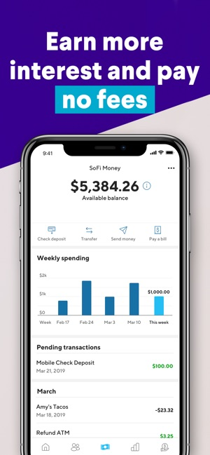 SoFi: Mobile Finance & Savings on the App Store