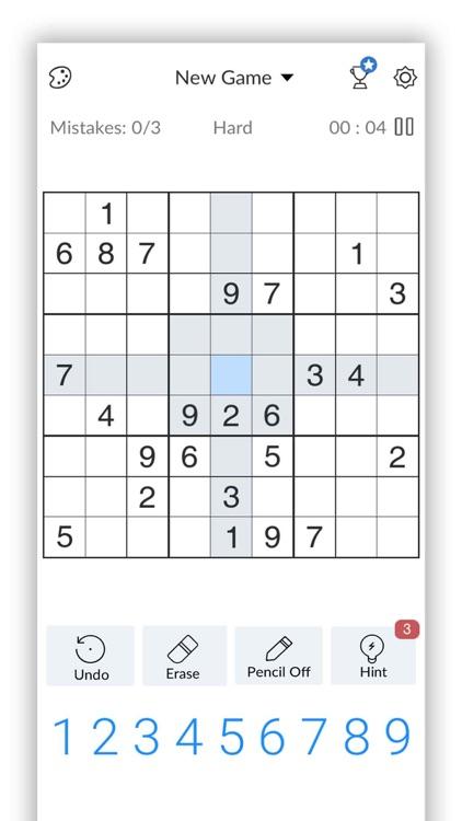 Sudoku - Classic Sudoku screenshot-4