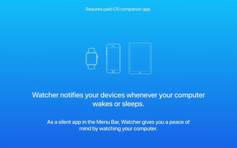 Watcher - Computer Watchdog скриншот программы 1
