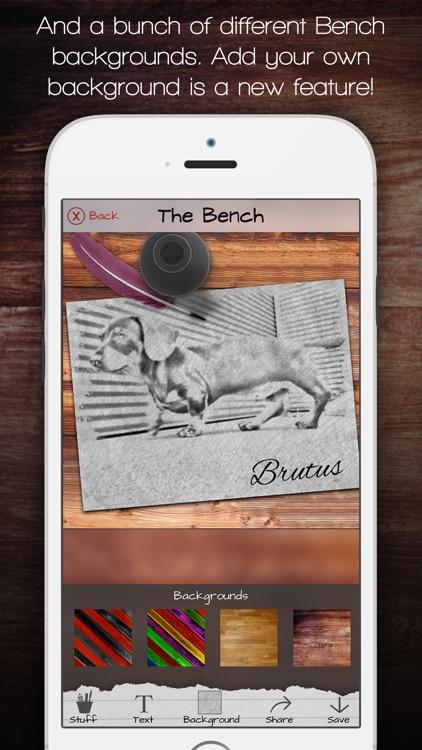 Sketch Bench - Pencil drawings screenshot-3
