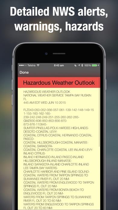 Weather Radar Map Live på PC
