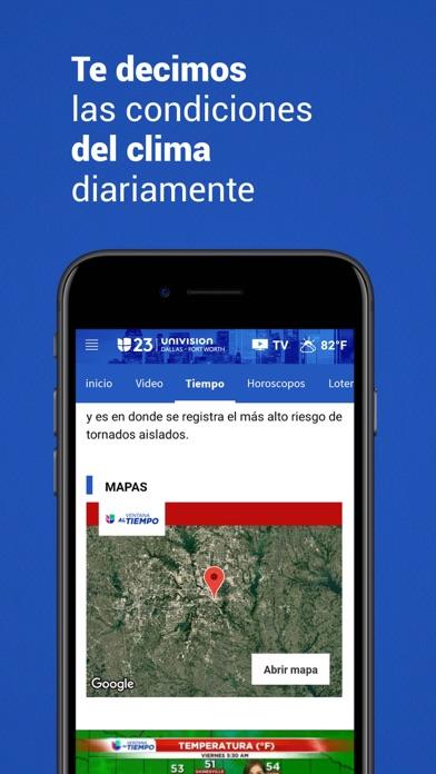 Univision 23 Dallas screenshot 4