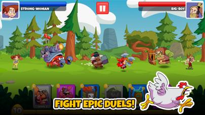 What The Hen: Enter Dragons! screenshot one