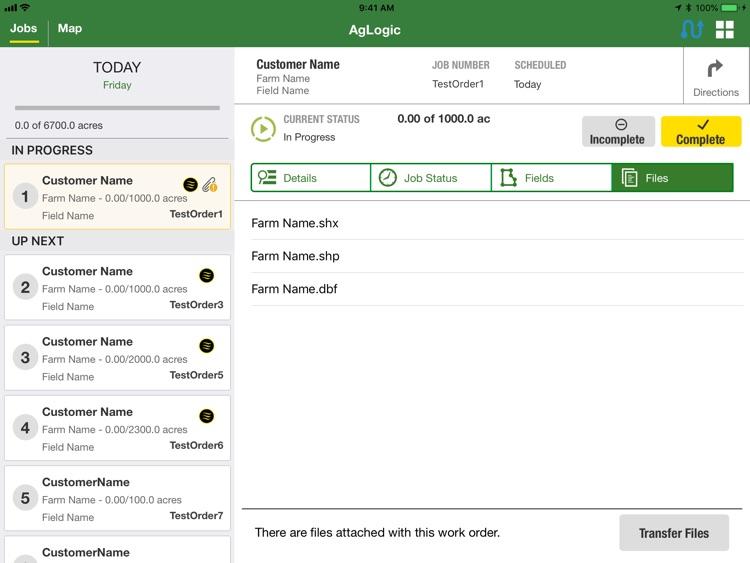 John Deere AgLogic™ screenshot-4