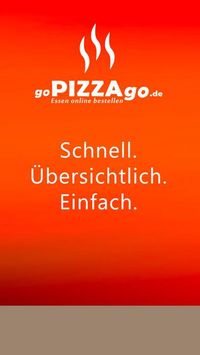 goPIZZAgo - Essen bestellen screenshot 1
