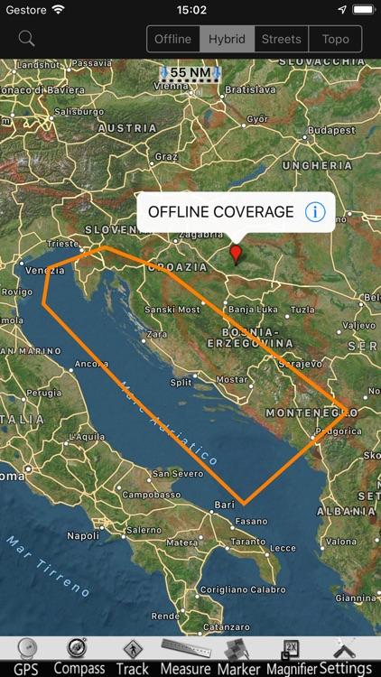Croatia GPS Nautical Chart Pro screenshot-4