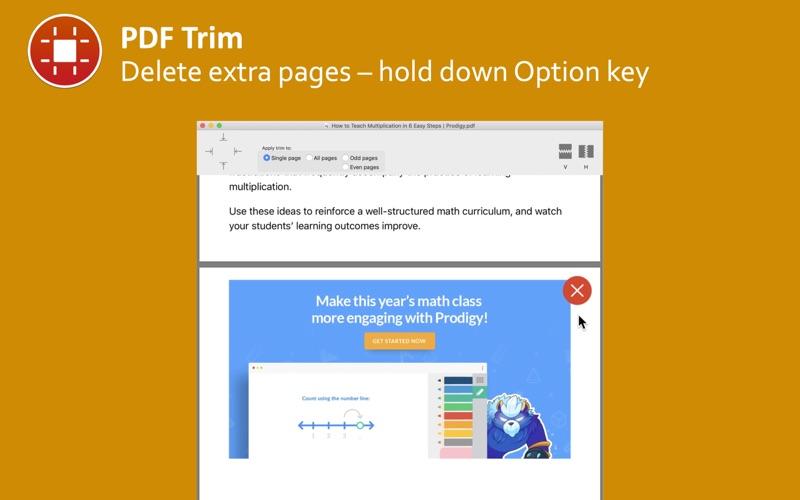 PDF Trim скриншот программы 5