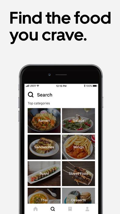 Uber Eats: Order Food Delivery Screenshot